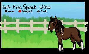 GIS Fine Spanish Wine 'Merlot' [Ref] by WolfHavenWoods