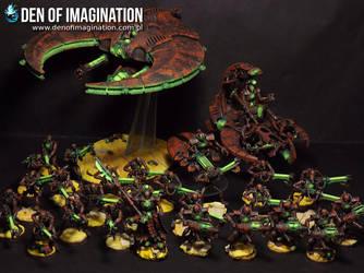 Necron Army by Brovatar