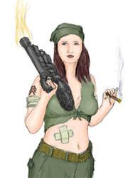 Army Gal by henrytj