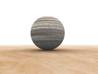 Round stone by henrytj