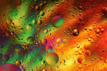 Rainbow world by DragonflyAndromeda