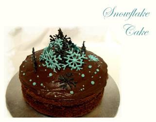 Snowflake Cake by spiderdijon