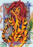 MARVEL - Tigra by WojikHell