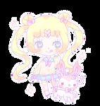 Sailor Moon Sylveon by Cuchuflis