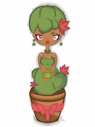 Cactus  bride   by D93-D