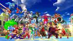 JMarvelHero Fighter Heroes Mix Wallpaper by JMarvelhero