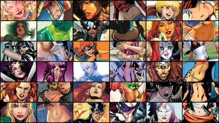 VGG Comics Series - DC Comics Belly Collection by JMarvelhero