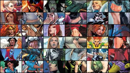 VGG Comics Series - Marvel Belly Collection by JMarvelhero