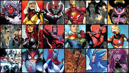 Game Wallpaper - Marvel Heroes 2 [New 2018 Art] by JMarvelhero