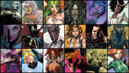 Game Wallpaper - Image Comics Best by JMarvelhero