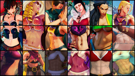 VGG SF Bellies - Sakura Updated by JMarvelhero