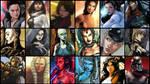 Star Wars - Popular Heroines and Villians by JMarvelhero