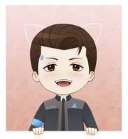 Chibi Connor by Es-Shiver