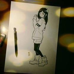 Alone Girl)) by hudaim