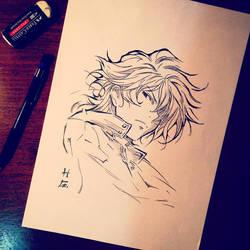 Setsuna F. Seiei (Gundam 00) by hudaim