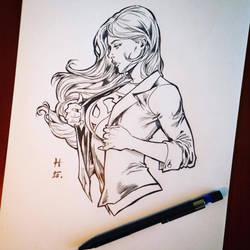 Supergirl... ^^ by hudaim