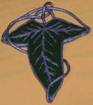 Lothlorien Pin - fimo by GeekyLogic