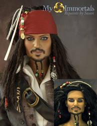Captain Jack Sparrow by my-immortals