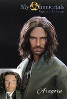 My Immortals Aragorn repaint by my-immortals