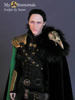 My Immortals Loki Head Sculpt by my-immortals