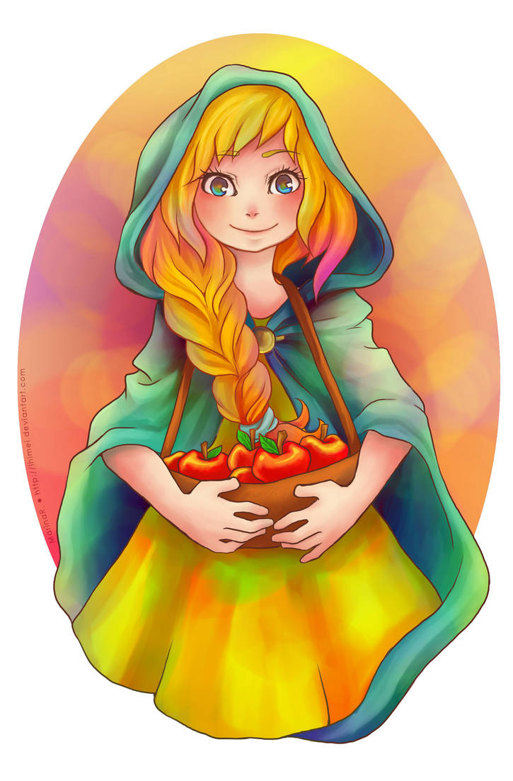 Would you like some apples? by lhimei