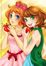 Happy Apples by lhimei