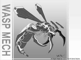 Wasp Mech by Luneder
