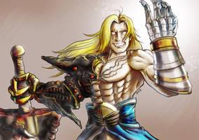 Evil Siegfried by skedart