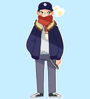 A cute cold boi  by Keriro