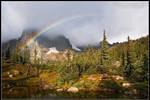 Alpine Rainbow by juddpatterson