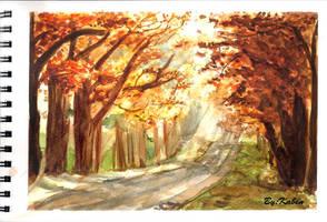 Landscape by MBlackBunny