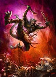 Lizardman Warmaker by loztvampir3