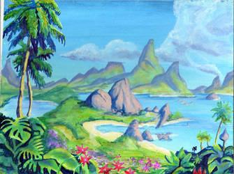 Sonic Satam Island by KEVIN-K-DEVIANTART