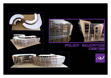 Policy Education Facility Physical Model by sbstnce