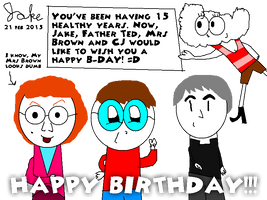 Birthday Letter to my friend by jakelsm