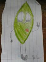 Drawn on a leaf by jakelsm
