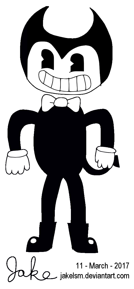 Bendy (Bendy and the Ink Machine) [REQUEST] by jakelsm