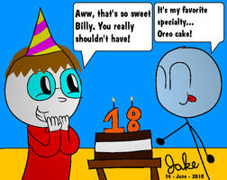 Birthday Man by jakelsm