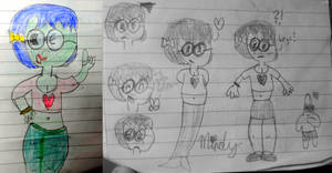 Some Doodles of Mindy from memory by jakelsm