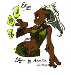 Elzee - Ecatte Dofus by Schizo-little-panda