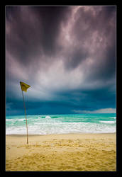 Chaweng beach storm by verty