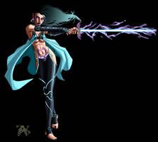 Shade Psi-Blade Telepath by LazarusReturns