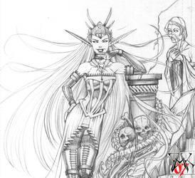Libitinia, Goddess of Death by LazarusReturns