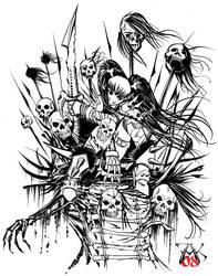 Orc Child Huntress by LazarusReturns