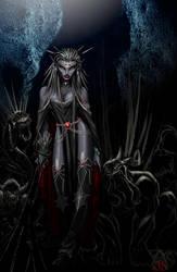 Drow Shadowcaster by LazarusReturns