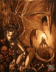 Demon Girl by LazarusReturns