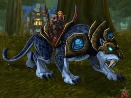 Warcraft Tiger Rider by LazarusReturns