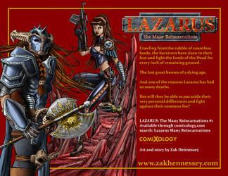 LAZARUS Ad - The Survivors by LazarusReturns