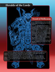 The Sword of Bellicosus by LazarusReturns