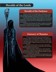 Emissary of Thanatos - Seeds for the Reaper Novel by LazarusReturns
